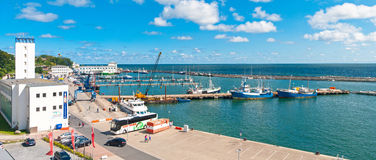 Sassnitz Harbor Royalty Free Stock Photography