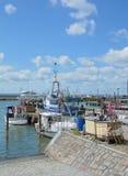 Sassnitz, Ruegen-eiland, Oostzee, Duitsland Stock Foto's