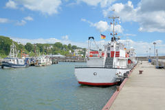 Sassnitz,Ruegen island,Germany Stock Photos