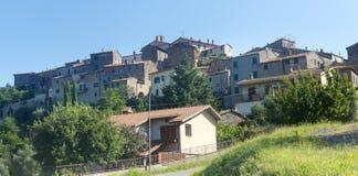 Sasso d'Ombrone (Maremma, Tuscany) Stock Images