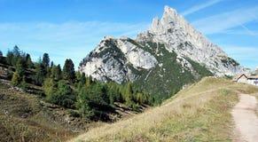 Sasso di Stria maximum Fotografering för Bildbyråer