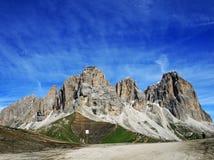 Sasso lungo mountain landscape Stock Image