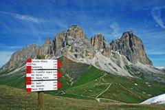 Sasso lungo mountain landscape Royalty Free Stock Image