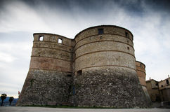 Sassocorvaro'S Castle Stock Photos