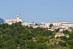 Sassoferrato (3月,意大利) 免版税库存图片