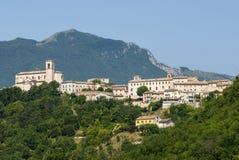 Sassoferrato (gränser, Italien) Royaltyfri Fotografi