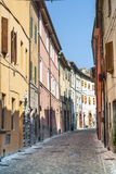 Sassoferrato (Marches, Italy) Stock Photography