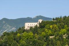 Sassoferrato (marzo, Italia) Fotografie Stock