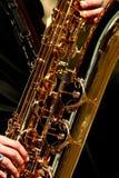 Sassofono Fotografia Stock Libera da Diritti