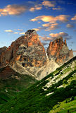 Sassolungo. Val di Fassa, Italy Alps Stock Photo