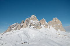 Sassolungo Dolomites Royalty Free Stock Photo