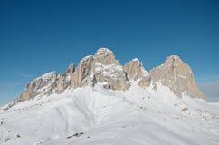 Sassolungo Dolomites Royalty Free Stock Photo
