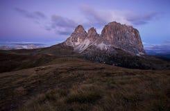 Sassolungo Dolomites Royaltyfri Fotografi