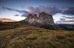 Sassolungo, Dolomites Stock Photography
