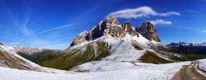 Sassolungo. Italy Stock Images