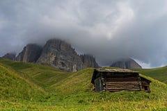 Sassolungo landscape Royalty Free Stock Image
