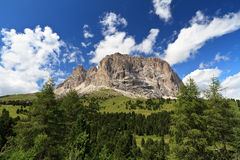 Sassolungo - Langkofel Royalty Free Stock Photo