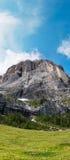 Sassolungo (Langkofel), dolomia, Italia Fotografie Stock