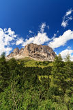 Sassolungo - Langkofel, vertical Royalty Free Stock Photography