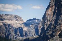 Sassolungo & Sella, Trentino Altowy Adige, Włochy Fotografia Stock