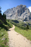 Sassolungo - Val Gardena Royalty Free Stock Images