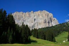 Sassolungo - Val Gardena Stock Images