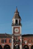 Sassuolo, centro della città, Modena, Italia fotografia stock libera da diritti