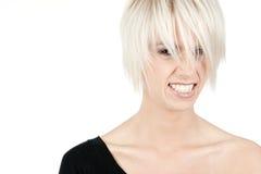 Sassy νέα γυναίκα Στοκ εικόνα με δικαίωμα ελεύθερης χρήσης