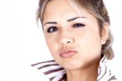 Sassy белокурая девушка Стоковое Изображение RF