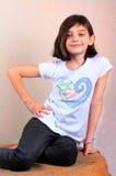 Sassy девушка яппи Стоковые Фотографии RF