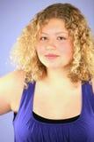 Sassy blonde girl Royalty Free Stock Photos