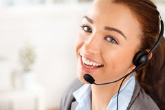 Sassy Customer service agent Stock Photography