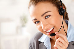 Free Sassy Customer Service Agent Stock Photos - 26047293