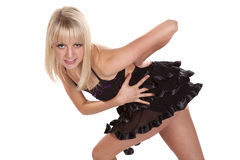 Sassy dancer Royalty Free Stock Photo