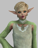 Sassy Elf Royalty Free Stock Photo