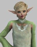 Sassy Elf Royalty-vrije Stock Foto