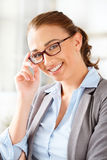 Sassy entrepeneur working from home Royalty Free Stock Images