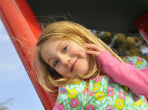 Sassy junges Mädchen Stockbild