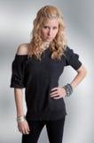 Sassy Tiener Royalty-vrije Stock Foto