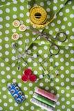 Sastre de los accesorios Fotografía de archivo libre de regalías