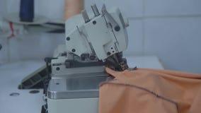 Sastre Fabric Sewing Taller de la materia textil almacen de metraje de vídeo