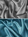 Satängtextur Fotografering för Bildbyråer