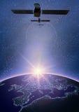 Satélite 2 Imagen de archivo libre de regalías