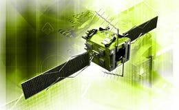 satélite imagem de stock royalty free