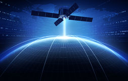 satélite Foto de archivo