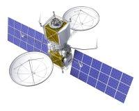 Satélite de órbita ilustração stock