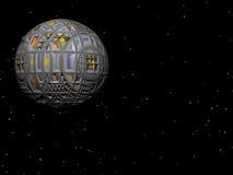 Satélite de la estrella Fotografía de archivo libre de regalías