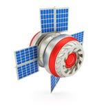 Satélite do espaço Foto de Stock Royalty Free
