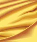 Satén amarillo Fotos de archivo