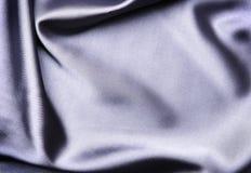 Satén azul elegante Imagen de archivo libre de regalías